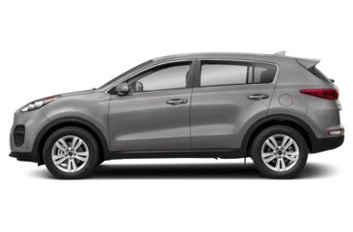 90 Degree Profile 2019 Kia Sportage