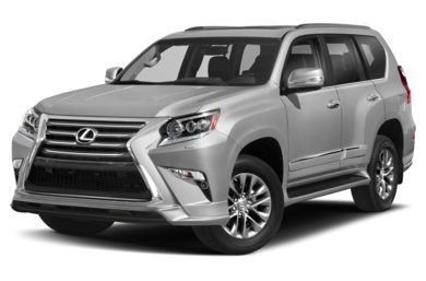 3/4 Front Glamour 2019 Lexus GX