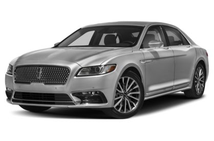 3/4 Front Glamour 2020 Lincoln Continental