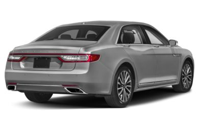 3/4 Rear Glamour  2018 Lincoln Continental