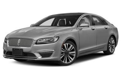 3/4 Front Glamour 2019 Lincoln MKZ