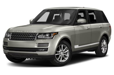 3/4 Front Glamour 2017 Land Rover Range Rover