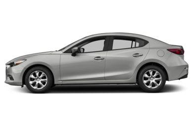 90 Degree Profile 2017 Mazda Mazda3