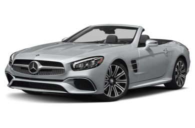 3/4 Front Glamour 2019 Mercedes-Benz SL-Class