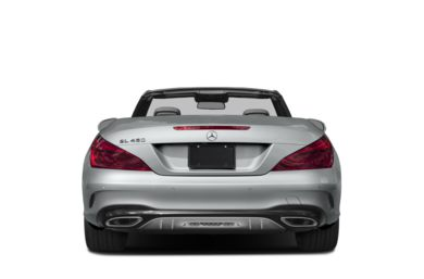 Rear Profile  2018 Mercedes-Benz SL-Class