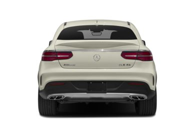 Rear Profile  2018 Mercedes-Benz GLE-Class
