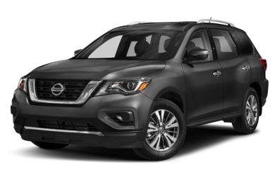 3/4 Front Glamour 2019 Nissan Pathfinder