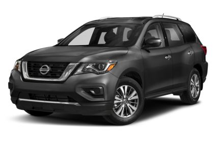 3/4 Front Glamour 2020 Nissan Pathfinder