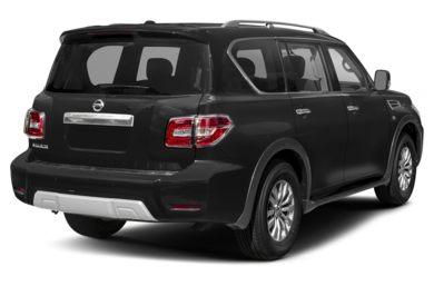 3 4 Rear Glamour 2017 Nissan Armada