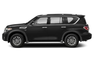 90 Degree Profile 2018 Nissan Armada