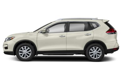 90 Degree Profile 2019 Nissan Rogue