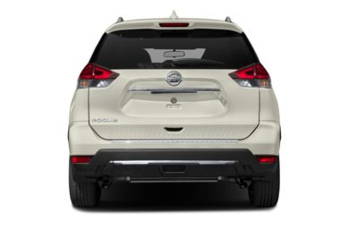 Rear Profile  2018 Nissan Rogue