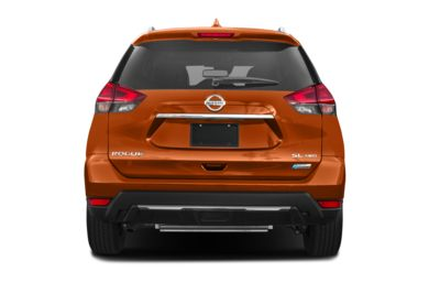 Rear Profile  2018 Nissan Rogue Hybrid