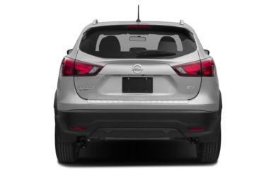 Rear Profile  2018 Nissan Rogue Sport