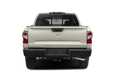 Rear Profile  2019 Nissan Titan