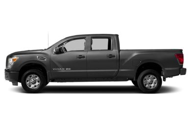 90 Degree Profile 2017 Nissan Titan XD