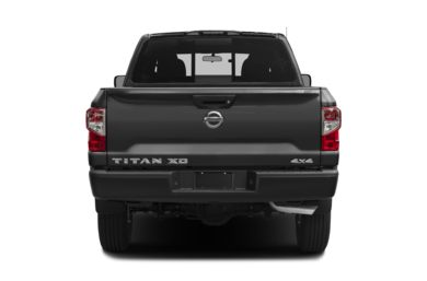 Rear Profile  2016 Nissan Titan XD
