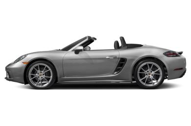 90 Degree Profile 2018 Porsche 718 Boxster