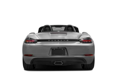 Rear Profile  2018 Porsche 718 Boxster