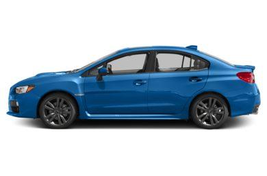 90 Degree Profile 2017 Subaru Wrx