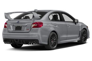 3 4 Rear Glamour 2017 Subaru Wrx Sti