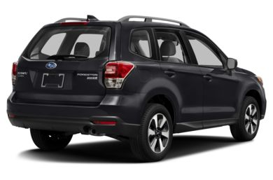 3/4 Rear Glamour  2018 Subaru Forester