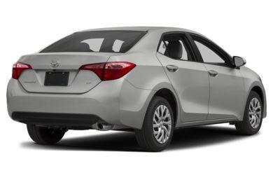 3 4 Rear Glamour 2017 Toyota Corolla