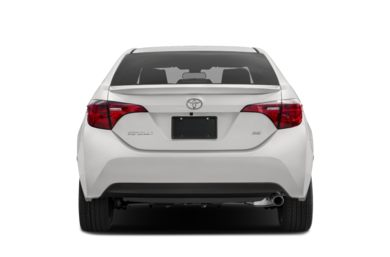 Rear Profile  2018 Toyota Corolla