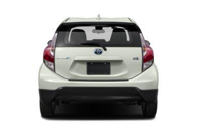 Rear Profile 2017 Toyota Prius C