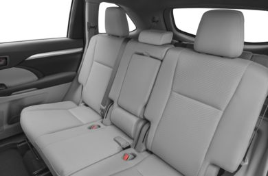 Rear Interior Volume 2017 Toyota Highlander