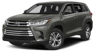 2018 Toyota Highlander Color Options