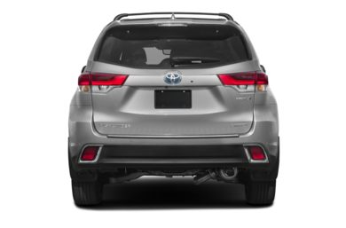 Rear Profile 2018 Toyota Highlander Hybrid