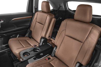 Rear Interior Volume 2017 Toyota Highlander Hybrid