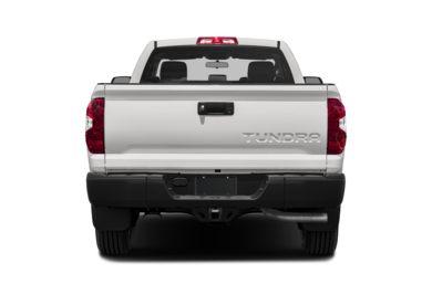Rear Profile 2017 Toyota Tundra