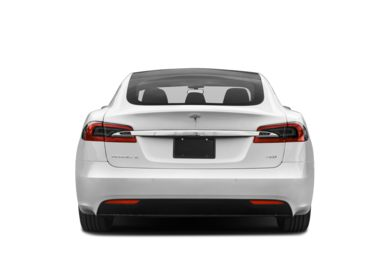 Rear Profile  2017 Tesla Model S