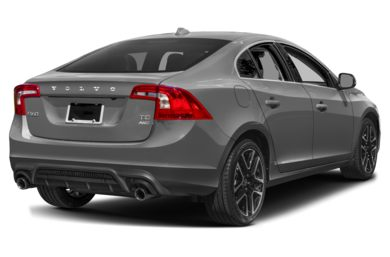 3/4 Rear Glamour  2017 Volvo S60