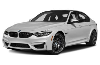 3/4 Front Glamour 2018 BMW M3