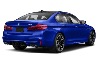3/4 Rear Glamour  2019 BMW M5