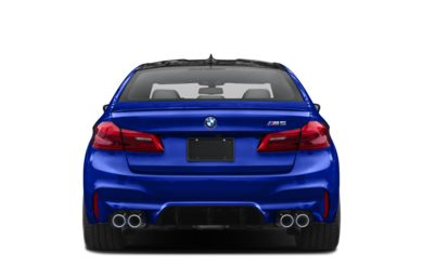 Rear Profile  2019 BMW M5