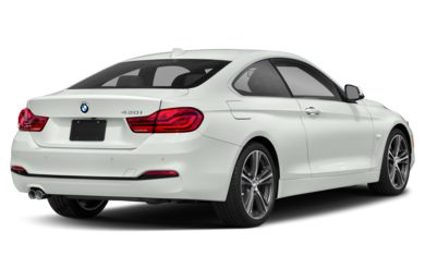3/4 Rear Glamour  2019 BMW 4-Series