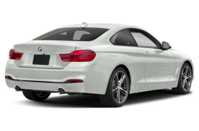3/4 Rear Glamour  2020 BMW 4-Series