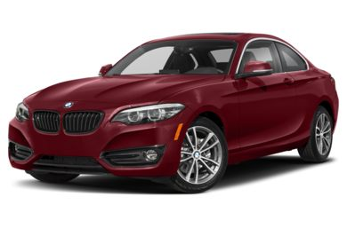 3/4 Front Glamour 2019 BMW 2-Series