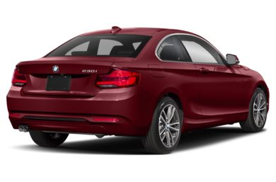 3/4 Rear Glamour  2019 BMW 2-Series