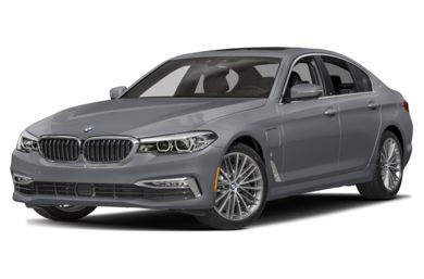 3 4 Front Glamour 2018 BMW 5 Series