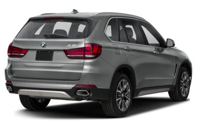 3/4 Rear Glamour  2018 BMW X5