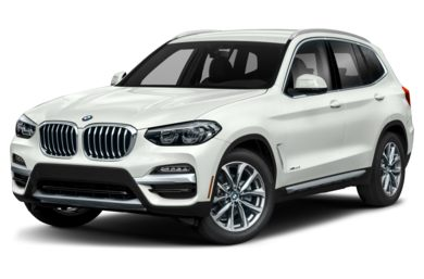 3/4 Front Glamour 2019 BMW X3