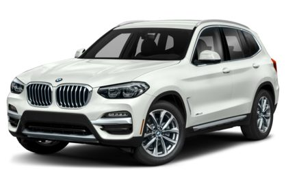 3/4 Front Glamour 2020 BMW X3