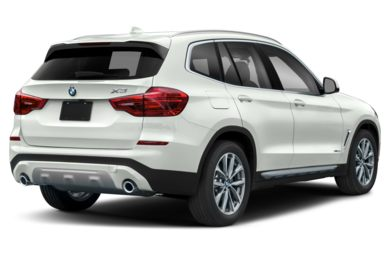 3/4 Rear Glamour  2019 BMW X3