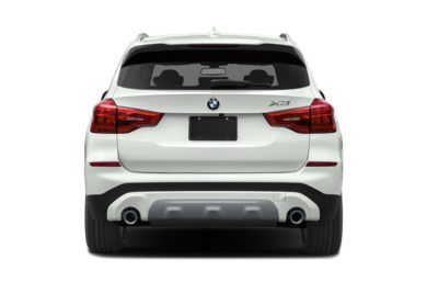 Rear Profile  2019 BMW X3