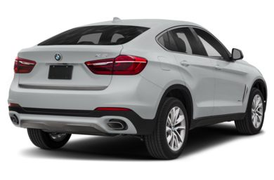 3/4 Rear Glamour  2018 BMW X6